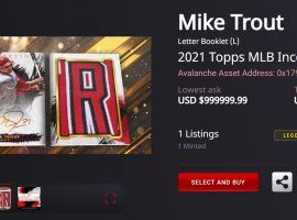 Topps released its Inception baseball NFTs last week, with collectors praising the product but once again panning how the company handled its initial drop. (Image: ToppsNFTs.com)