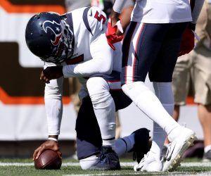 Tyrod Taylor QB Houston Texans hamstring injury