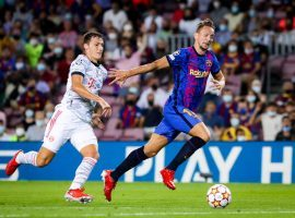 Barcelona lost 3-0 at home to Bayern on the opening night of the Champions League campaign. (Image: Twitter/fcbarcelona)