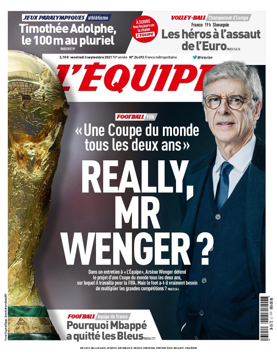 Arsene Wenger - World Cup