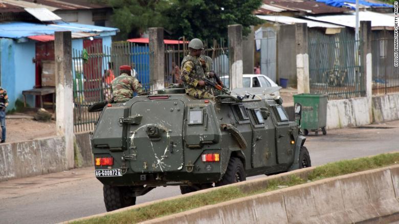 Military Guinea Coup