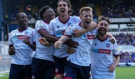 Bolton Wanderers will cut ties with gambling companies, the club announced through a statement. (Image: Twitter/OfficialBWFC)