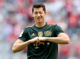 Bayern's Lewandowski is unstoppable! He netted 11 times in seven games since the start of the new campaign. (Image: Twitter/championsleague)