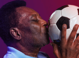 Pele (80) is one of the iconic figures in the history of world football. (Image: Instagram/Pele)