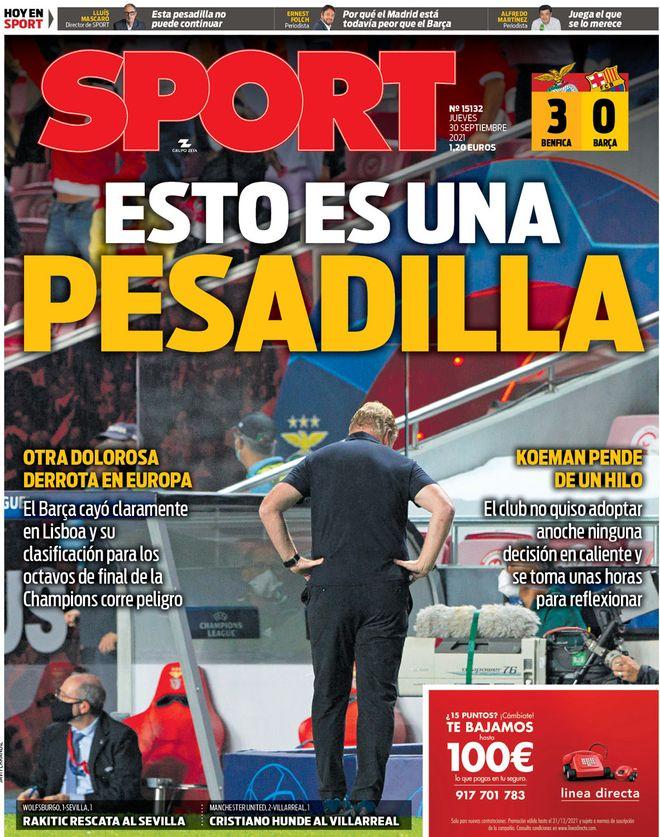 Halaman depan olahraga