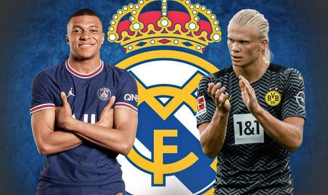 Mbappe Haaland Real Madrid