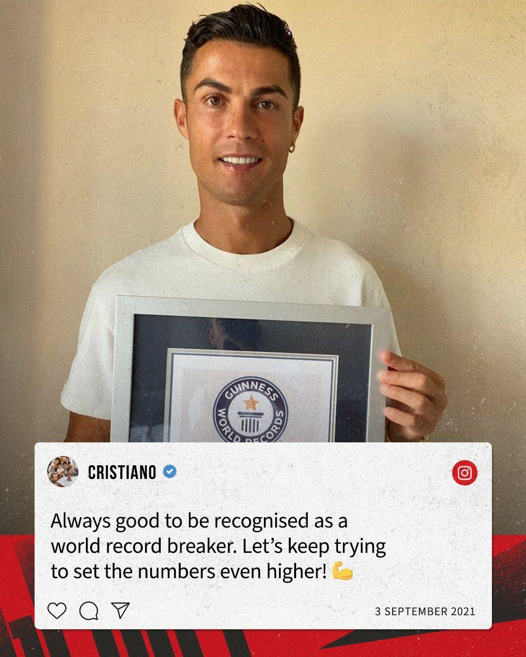Ronaldo - Guinness World Records