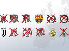 Real Madrid, Barcelona, and Juventus are the last three clubs that refused to quit the Super League project. (Image: skysports.com)