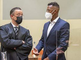 Jerome Boateng appeared in court on Thursday, asking to be aquitted. (Image: bild.de)
