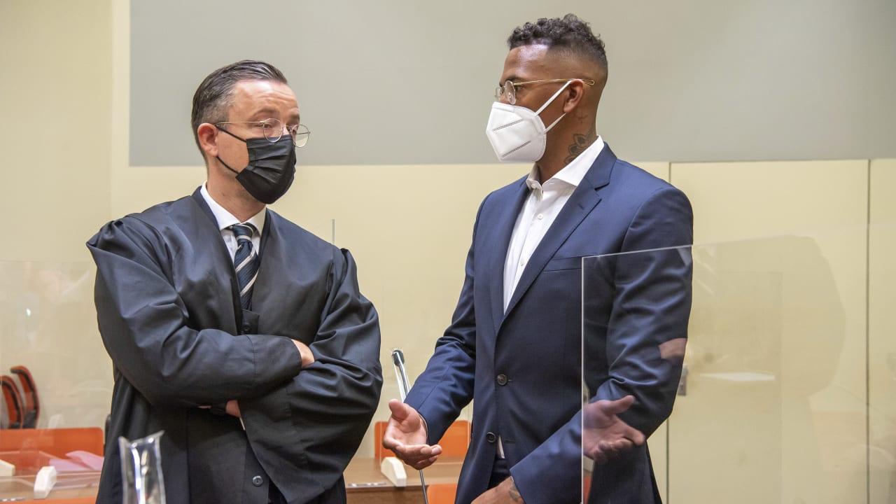 Jerome Boateng di pengadilan