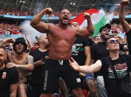 Hungary's ultras put an immense pressure on their team's opponents at Euro 2020. (Image: Twitter/ZidanSports)