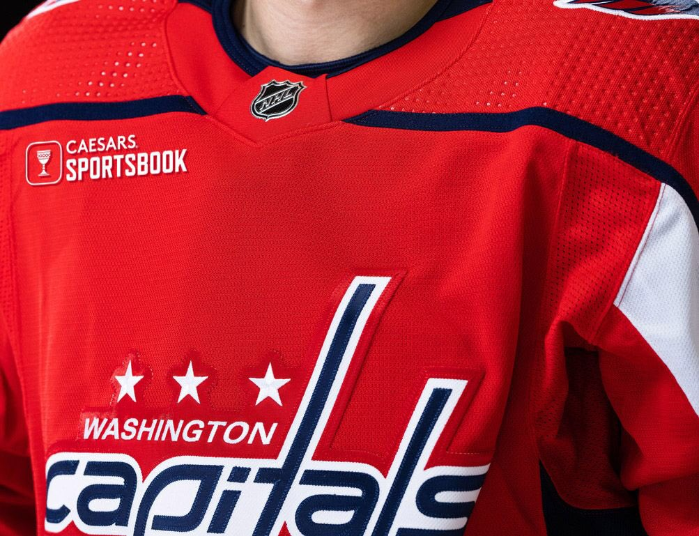 Washington Capitals are the first US team to get gambling sponsorship for jerseys.