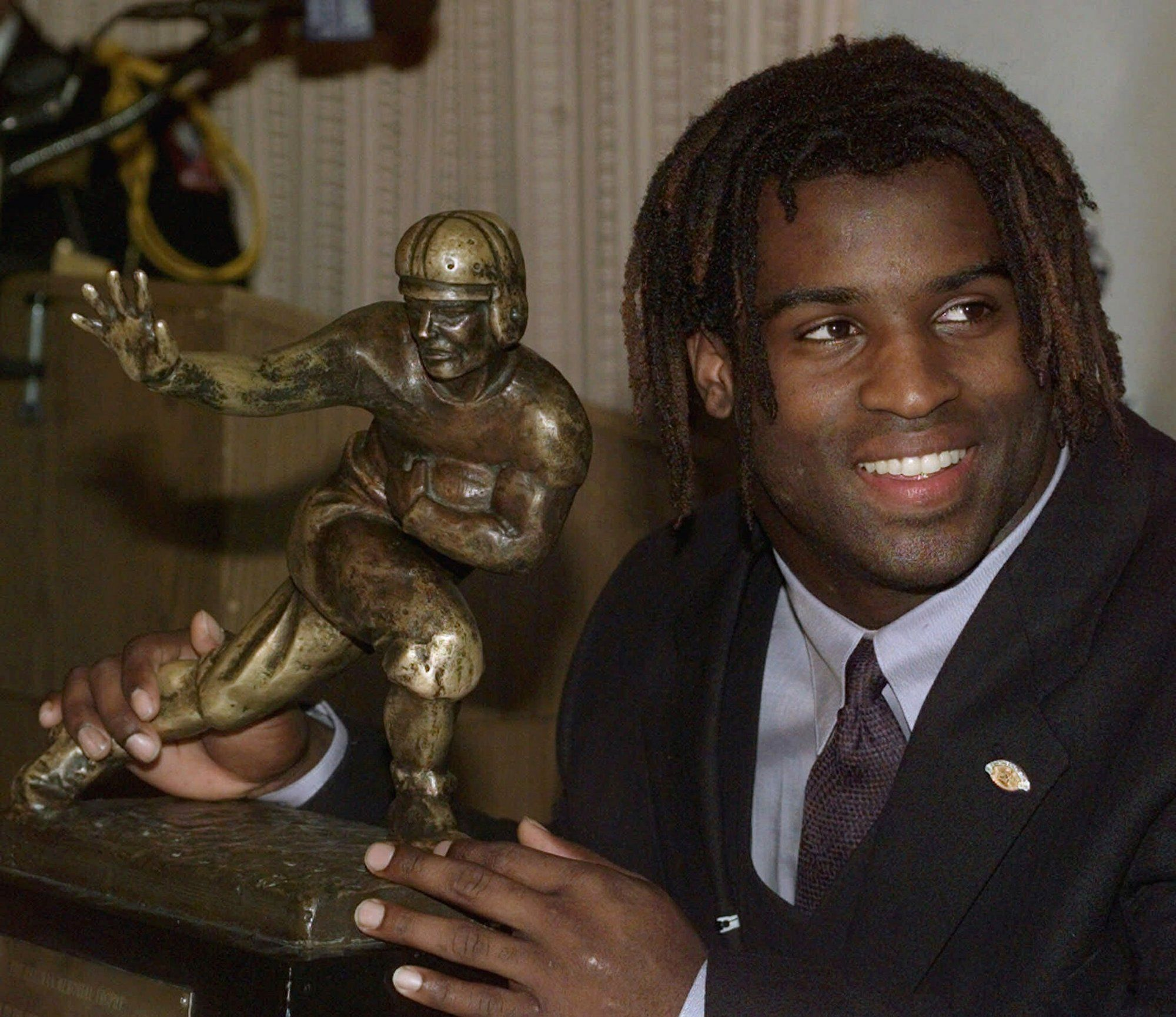 A new biopic will examine the life of 1998 Heisman Trophy winner Ricky Williams.