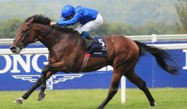 Adayar won the Group 1 King George VI and Queen Elizabeth II stakes going away. He figures to be a key figure in Saturday's British Champion Stakes at Ascot. (Image: Great British Racing)