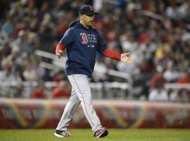 Manager Alex Cora will lead the Boston Red Sox against the Houston Astros in the ALCS. (Image: Nick Wass/AP)