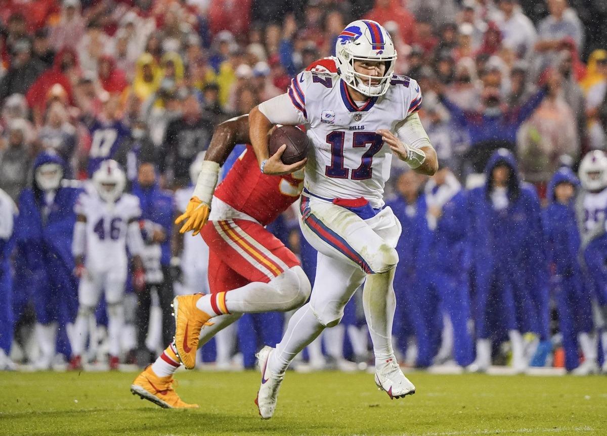 Buffalo Bills Josh Allen MVP odds taruhan favorit Kyler Murray Mahomes