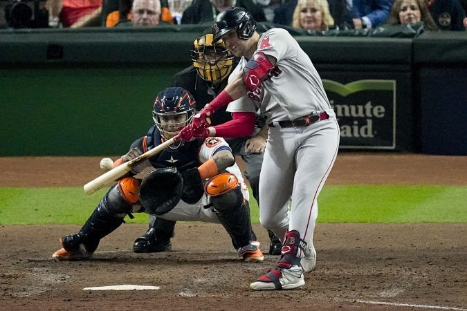 The Boston Red Sox will host Game 3 of the ALCS at Fenway Park on Monday against the Houston Astros. (Image: Sue Ogrocki/AP)