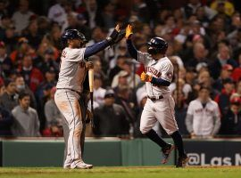 The Houston Astros exploded for seven runs in the ninth inning, beating the Boston Red Sox 9-2 in Game 4 of the ALCS. (Image: Paul Rutherford/USA Today Sports)