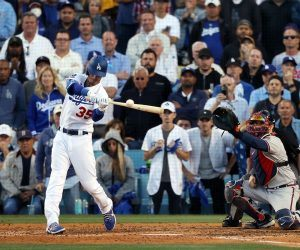 NLCS Game 4 odds Dodgers Braves