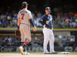The Milwaukee Brewers are favored to win their NLDS matchup against the Atlanta Braves, which begins with Game 1 on Friday. (Image: Michael McLoone/USA Today Sports)