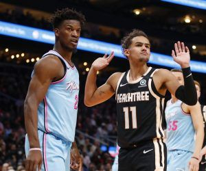 Jimmy Butler Trae Young Miami Heat Atlanta Hawks NBA Southeast Division Odds