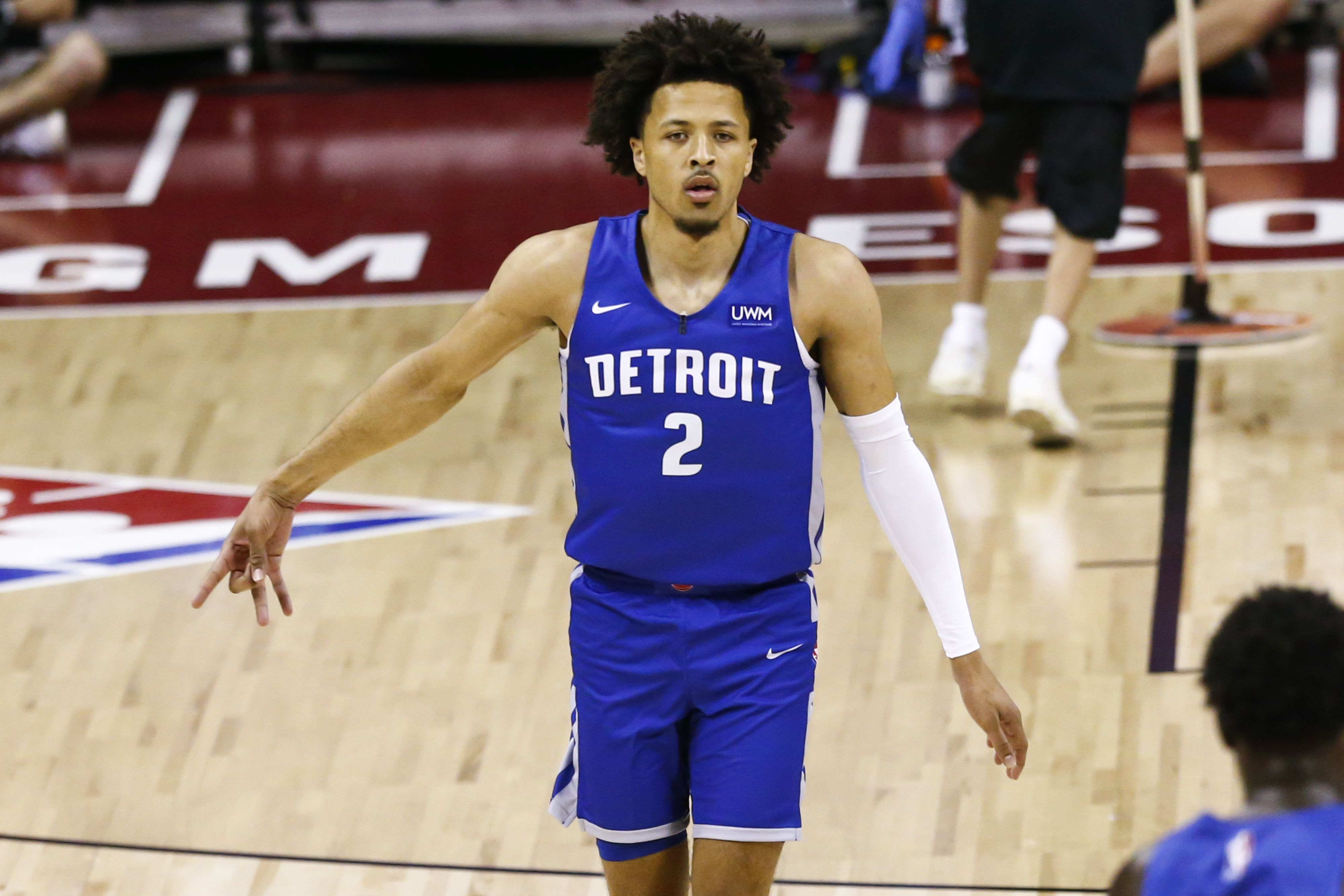 Cade Cunningham Detroit Pistons ankle injury