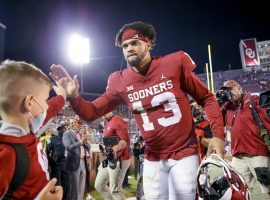 Caleb Williams has excelled for the Sooners since taking over the starting quarterback role at Oklahoma (Image: Washington Post)
