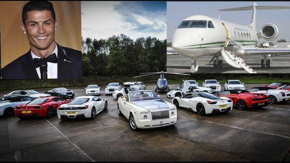 Ronaldo car collection