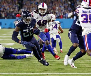 Derrick Henry Tennessee Titans Home Dogs dog Week 7 NFL Giants Seahawks Dolphins