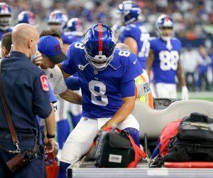 Daniel Jones New York Giants injury Saquon Barkley