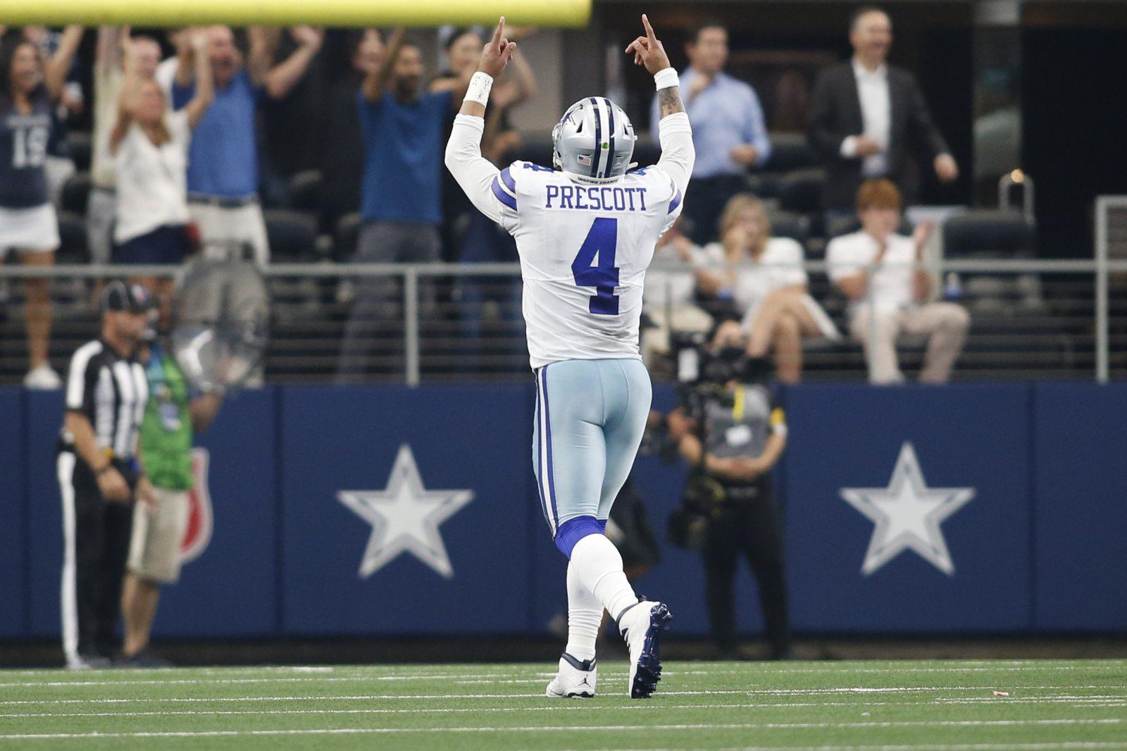 Dallas Cowboys Dak Prescott NFL Comeback Player Year Odds Darnold Barkley Burrow