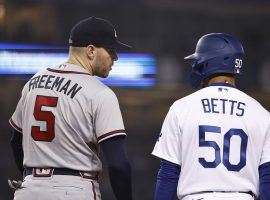 The Atlanta Braves and Los Angeles Dodgers are facing off in the NLCS for the second straight year. (Image: Michael Owens/Getty)