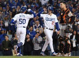 The Los Angeles Dodgers have strengthened their positions as 2021 World Series favorites ahead of the League Championship Series. (Image: Richard Mackson/USA Today Sports)
