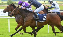In May, Empress Josephine won the 1,000 Guineas at 14/1. She comes back a week after running another Grade 1 as the 3/1 favorite in the Queen Elizabeth II Challenge Cup. (Image: RacingFotos.com)