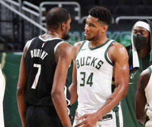 Kevin Durant GreekFreak Eastern Conference NBA Bucks Nets