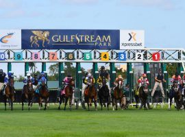 The Dec. 4 Claiming Crown card gives horses who once ran with claiming tags their day in the Florida sun. Gulfstream Park announced its 2021-22 Championship Meet stakes schedule this weekend. (Image: Gulfstream Park)