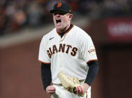Logan Webb will take the mound for the San Francisco Giants on Thursday against the Los Angeles Dodgers in Game 5 of the NLDS. (Image: Getty)