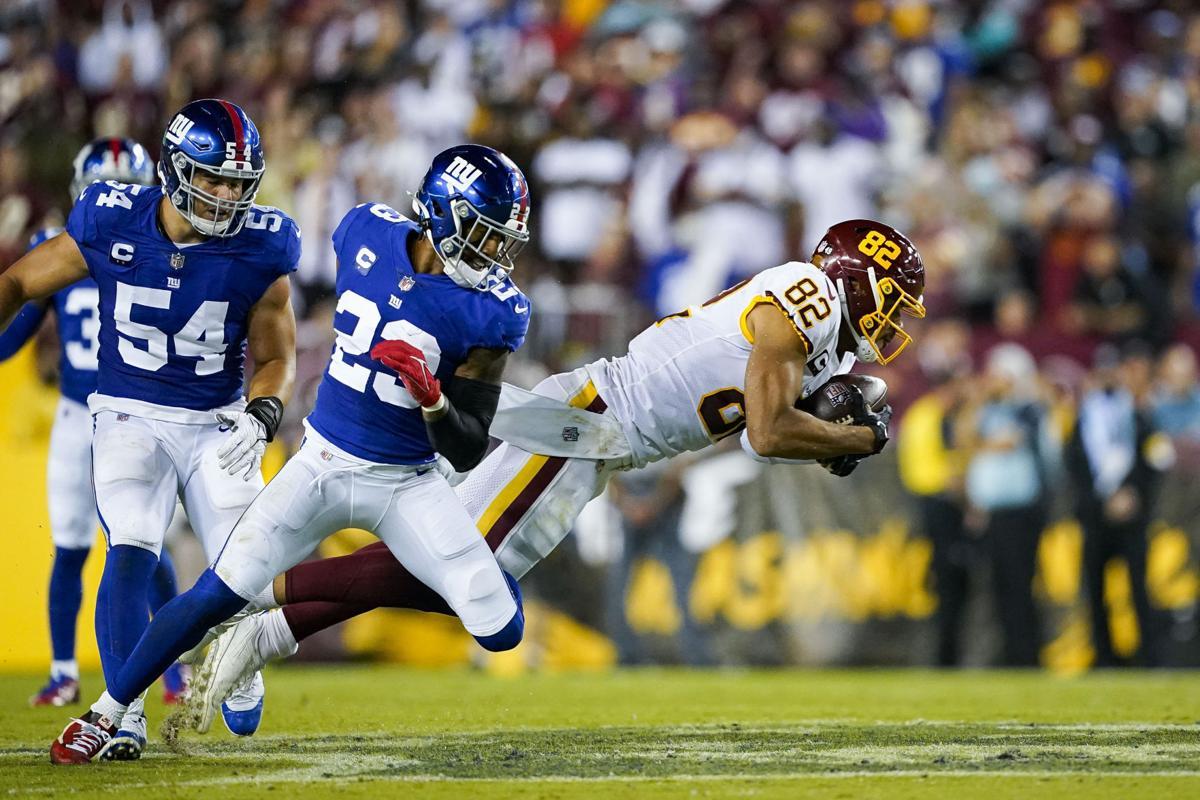 Washington Football Team Logan Thomas injury report hamstring