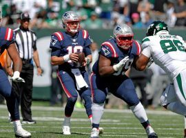 New England Patriots quarterback Mac Jones defeated the New York Jets in Week 2, and they meet again in Week 7. (Image: Getty)