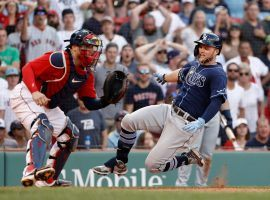 The Tampa Bay Rays will take on the Boston Red Sox in the ALDS beginning Thursday evening at Tropicana Field. (Image: Winslow Townson/AP)