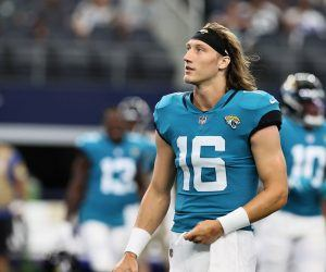 Trevor Lawrence Jacksonville Jaguars Home Dogs Week 6 Eagles Lions Bears Patriots Giants Titans
