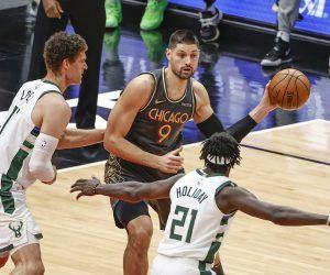 Chicago Bulls Nikola Vucevic Milwaukee Bucks NBA Central Division odds