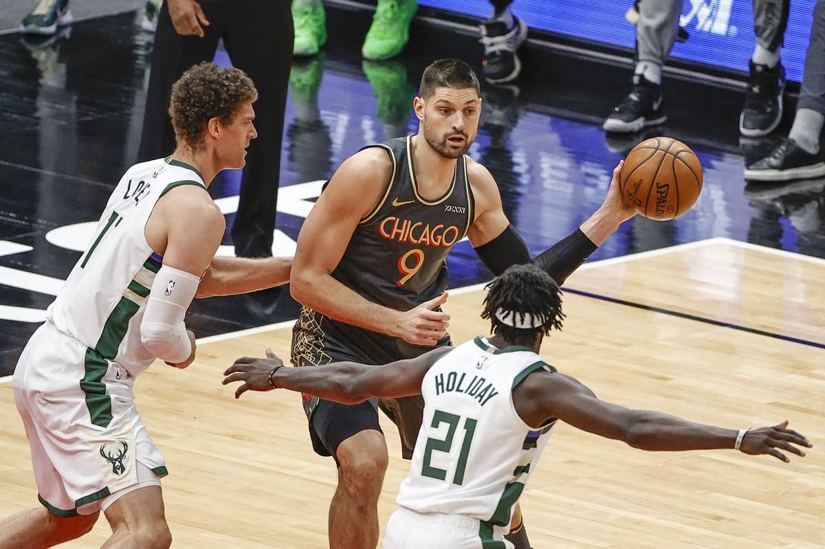 Peluang Chicago Bulls Nikola Vucevic Milwaukee Bucks Divisi Tengah NBA