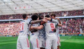 Bayern showed no mercy and beat Leverkusen 5-1 at home in the Bundesliga. (Image: Twitter/imiasanmia)