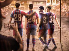 FC Barcelona will rely on its young players to take over from Messi and decide the Clasico this year. (Image: Twitter/fcbarcelona)