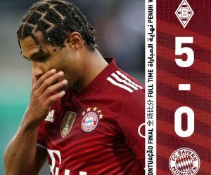 Gladbach Bayern 5-0