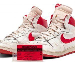 Michael Jordan sneakers break auction record
