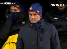 In 21 years as manager, Jose Mourinho has never seen a team he coached concede six goals in a single game. (Image: voyo.ro)