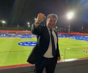 FC Barcelona - Joan Laporta
