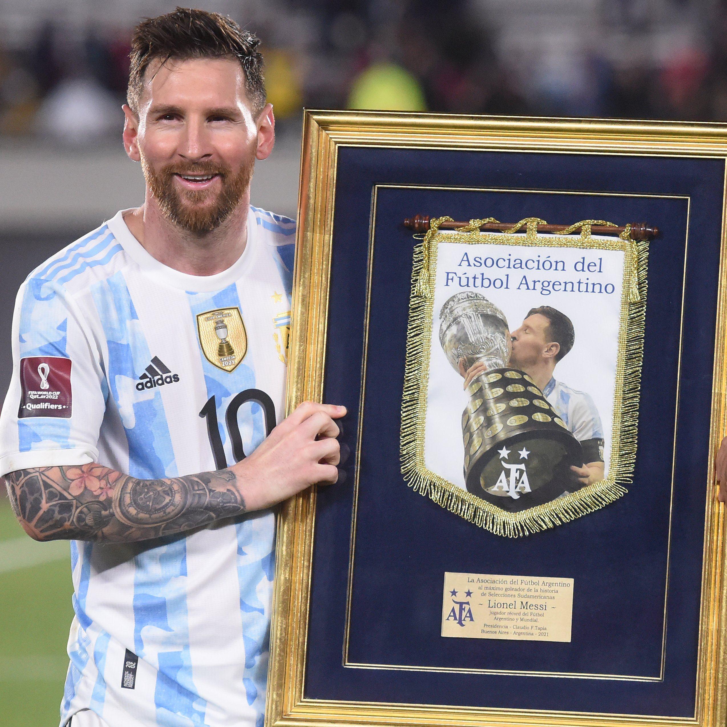 Messi - Record